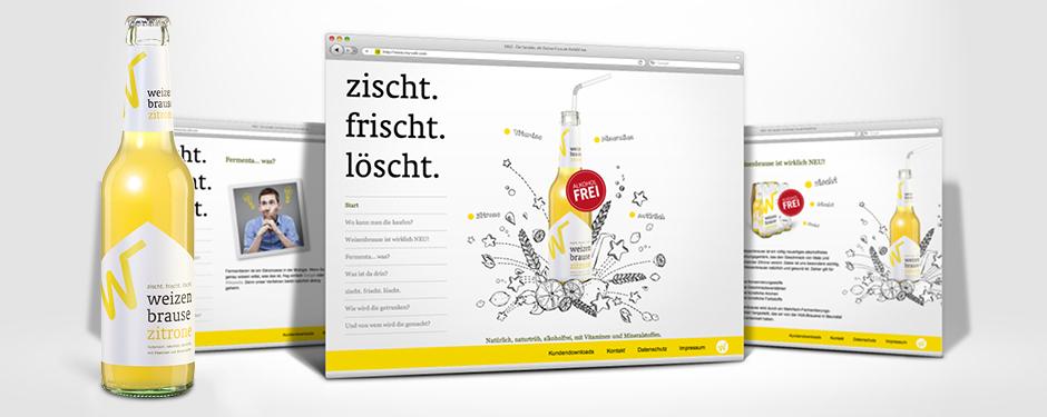 Hütt-Brauerei Bettenhäuser GmbH & Co. KG - Weizenbrause - Website