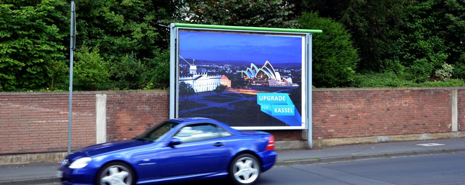 Netcom Kassel - Upgrade für Kassel - Großfläche mit Oper von Sydney