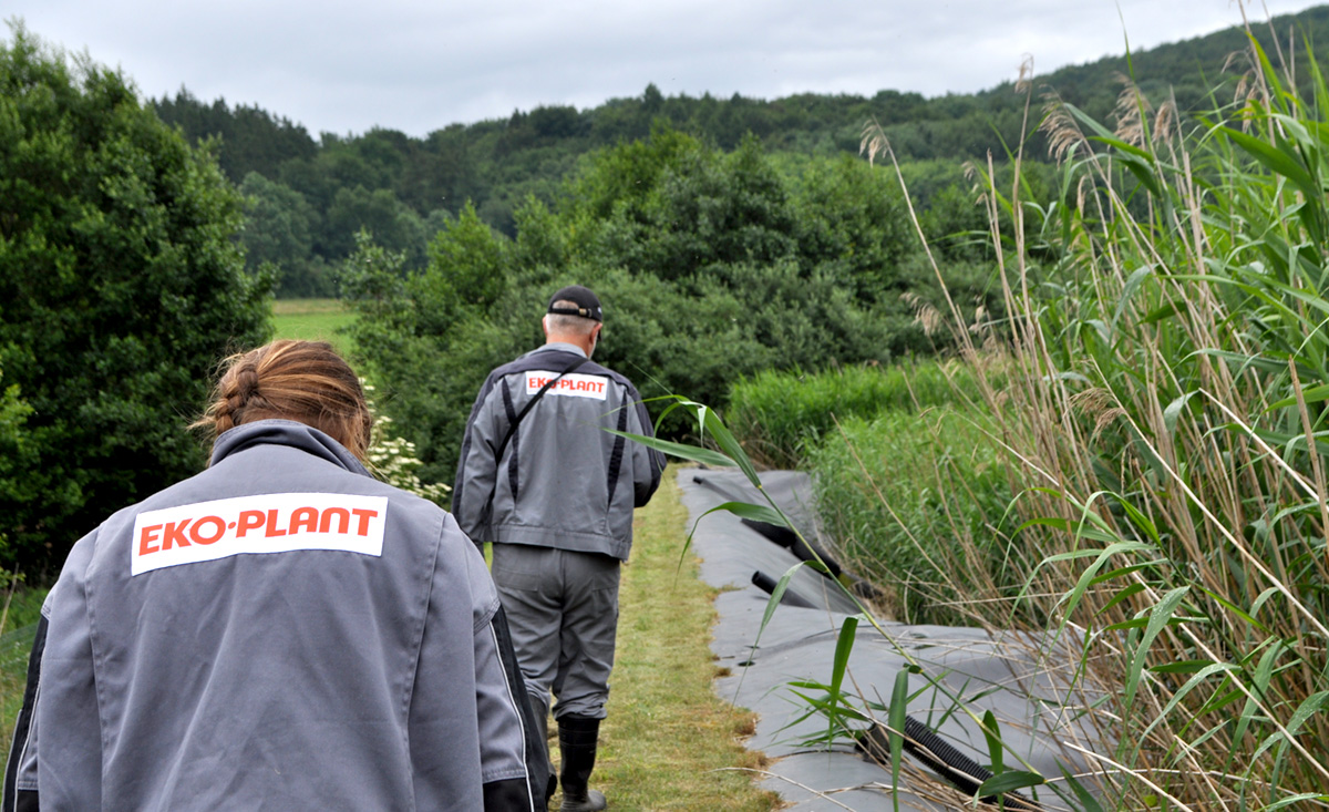 THE PAULY GROUP - EKO-PLANT Klärschlammvererdung